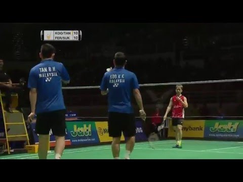 Victor Far East Malaysia Masters 2016 | Badminton F M3-MD | Koo/Tan vs Fer/Suk