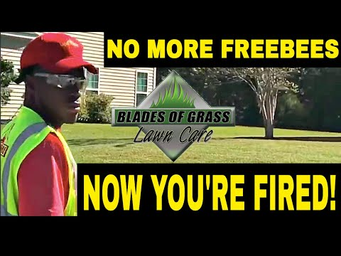 Lawn Mowing Service Fired For Stopping Freebies/ Southern Lawn Final Mow (Centipede Grass)