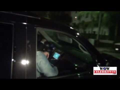 Justin Timberlake Leaving MySpace Event At EL Rey Theatre In Hollywood