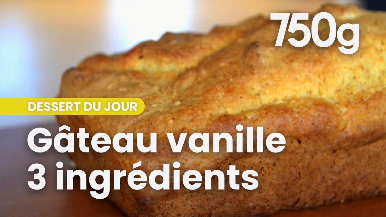 Top ☆ Gâteau vanille avec SEULEMENT 3 ingrédients ☆ - 750 Grammes  FC19