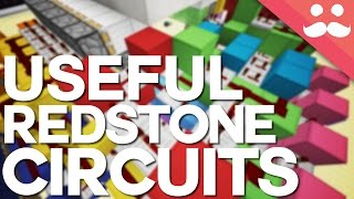 10 Useful Redstone Contraptions you WILL NEED!