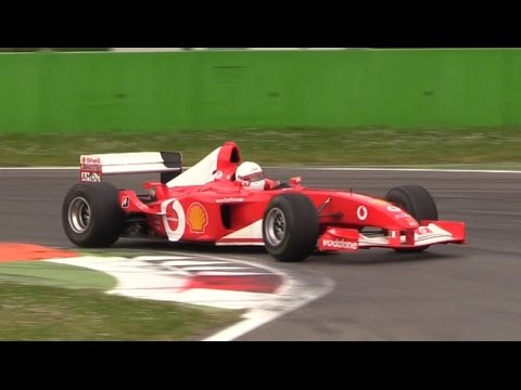 Ferrari F1 V10 Pure Sound at Monza Circuit - Ferrari F2001, F2002 & F2005