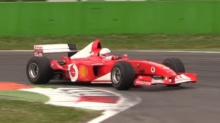 Ferrari F1 V10 Pure Sound at Monza Circuit - Ferrari F2001, F2002 & F2005