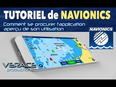 Comment se procurer GPS nautique NAVIONICS pour iphone et Android et aperçu de de son utilisation