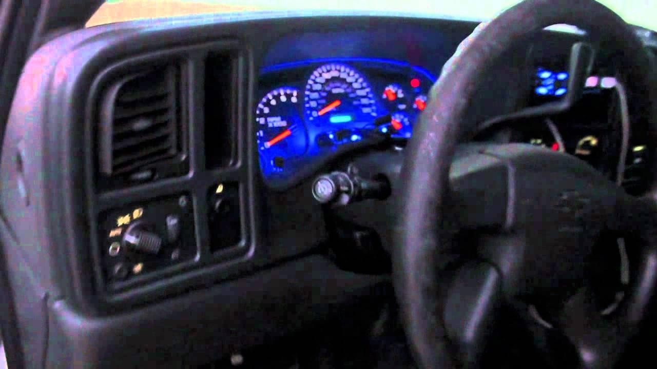 Silverado single cab, Kicker CVR. - YouTube