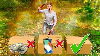 NIE WYBUCHNIJ ZŁEGO MYSTERY BOXA! *ekstremalne* | Nie zniszcz złego mystery boxa