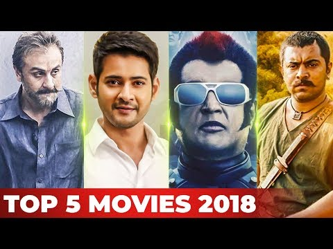 Top 5 Movies in All Languages of 2018 by Galatta! | 2.0 | Sanju