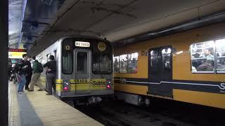 Buenos Aires地下鉄C線 名古屋市交通局250形・5000形 Diagonal Norte駅発着