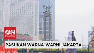 Warisan Gubernur Lama untuk Gubernur Baru Jakarta - Pasukan Warna-Warni Jakarta