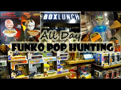 All Day Funko Pop Hunting / Box Lunch Grand Opening