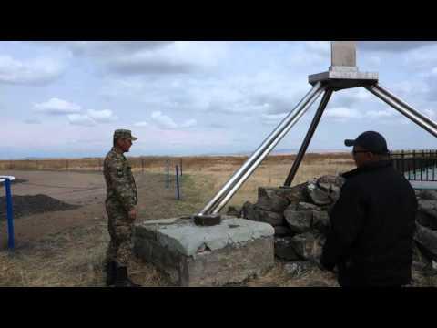 Mongolia-Russia-China border at Ereentsav