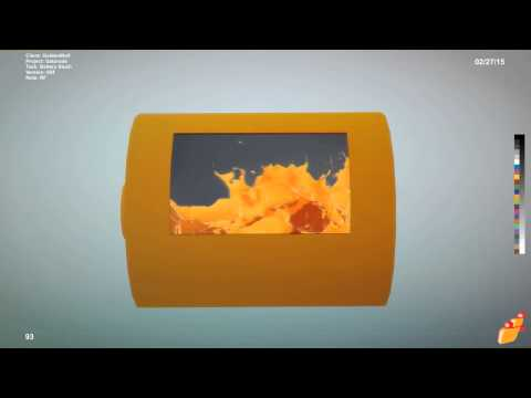 Gatorade | Fuel The Fire Commercial - RealFlow Scene Test 6
