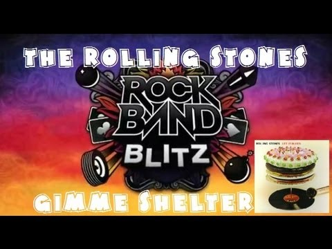 The Rolling Stones - Gimme Shelter - Rock Band Blitz Playthrough (5 Stars)