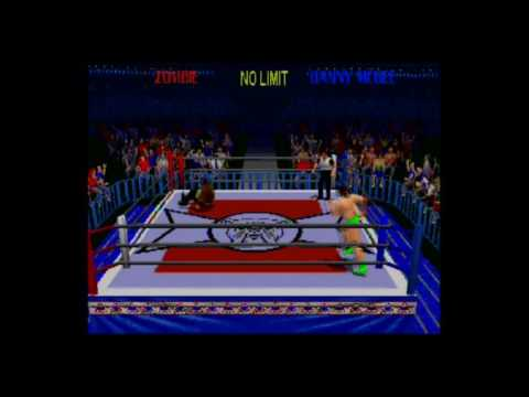 Ps1 Power Move Pro Wrestling   Gameplay 1