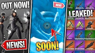 Fortnite 'Cattus' Event Soon, All 14 Unvaulted Weapons, Shadows Rising Pack Out! (Fortnite News)