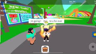 Being mean to people in adopt in raise #roblox
