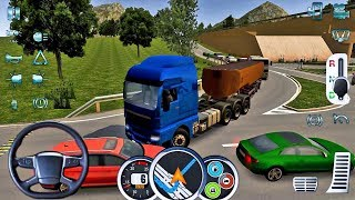 Euro Truck Driver 2018 #8 - 3 AXLES Truck Game Android gameplay  #truckgames