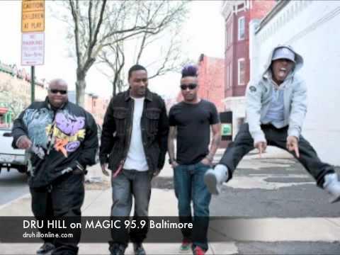 Dru Hill on Magic 95.9 Baltimore