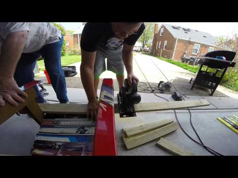 Building Adirondack Ski Chair