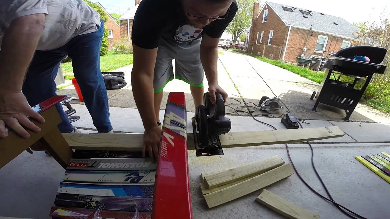 Building Adirondack Ski Chair