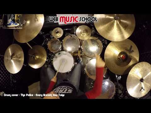 The Police - Every Breath You Take - DRUM COVER