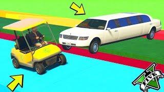 GTA 5 ONLINE 🐷 LTS 🐷N*166🐷 CADDIE VS LIMOUSINE !!! 🐷 GTA 5 ITA 🐷 DAJE !!!!!!!