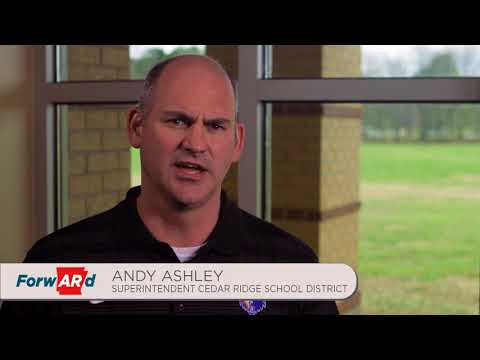 Andy Ashley, Superintendent, Cedar Ridge School District