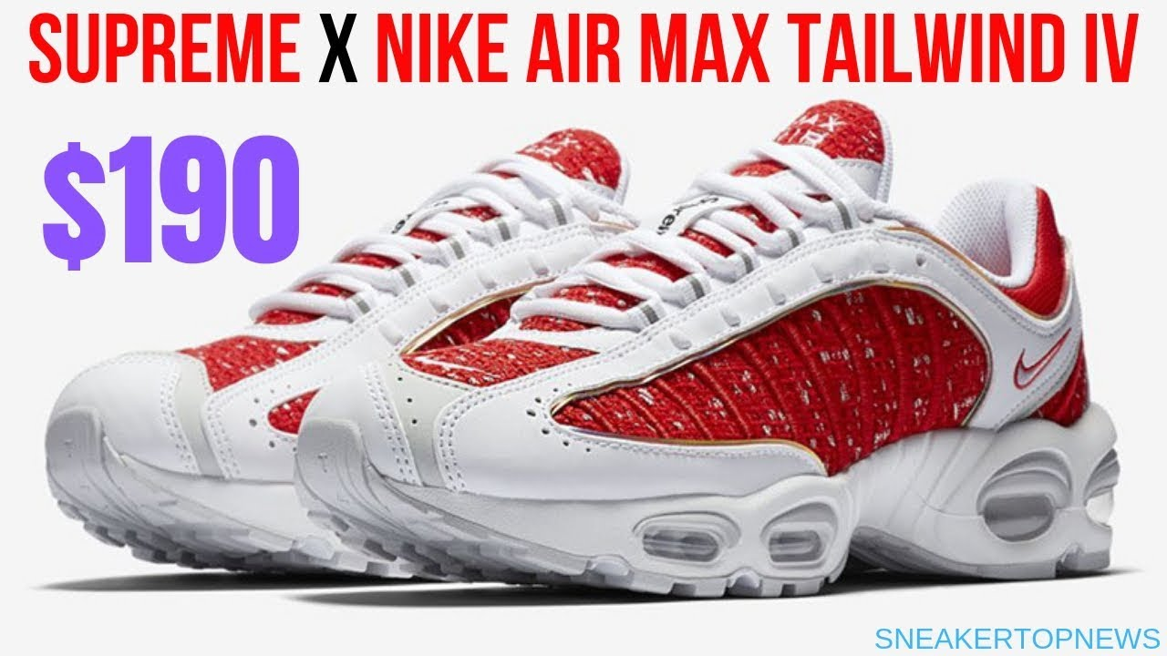 huge selection of 7d7d2 7cfa1 The Supreme x Nike Air Max Tailwind IV   air max 720 supreme 2019 ...