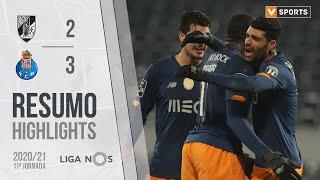 Highlights   Resumo: Vitória SC 2-3 FC Porto (Liga 20/21 #11)