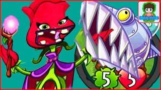 Игра Зомби против Растений Герои от Фаника Plants vs zombies Heroes 34