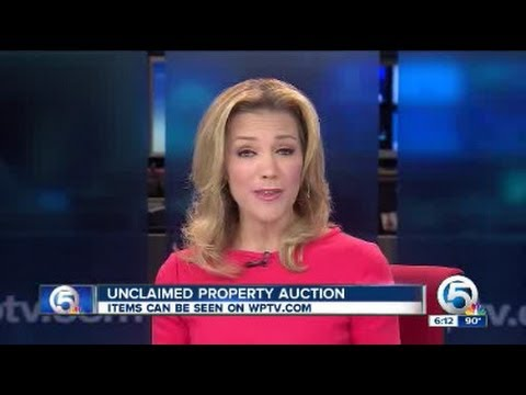 Unclaimed property auction