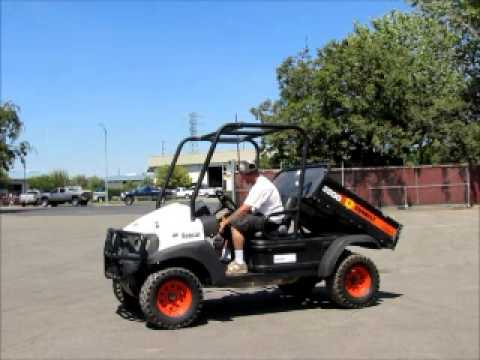 Sold! 2008 Bobcat 2200 4x4 Utility Vehicle UTV Cart ATV w/ bidadoo.com