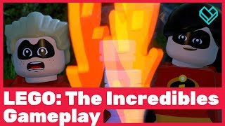 Lego: The Incredibles Gameplay The Island