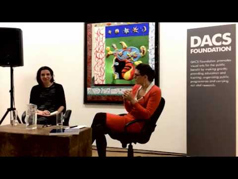 Art Talks: Dr Loretta Würtenberger and Melanie Gerlis discus