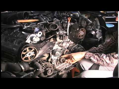 The American Garage Minute- Audi A6 timing belt replacement - YouTube