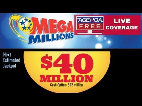 Lame $40 Million Mega Millions Drawing - LIVE COVERAGE