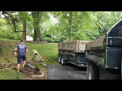 Basketball Goal Removal in Zionsville, IN