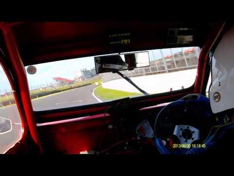 Brands 30 6 13 Race 2 Nick Clarke In Car