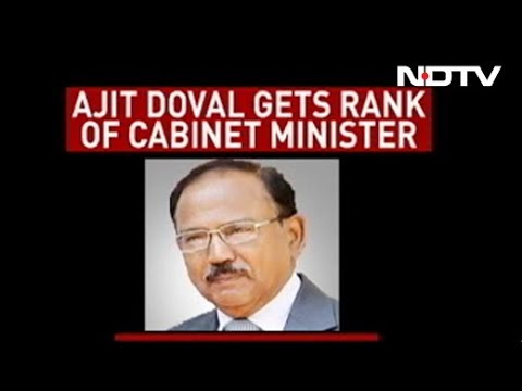 Ajit Doval Stays As NSA, Gets Cabinet Rank With 5-Year Term
