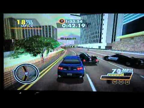 need for speed hot pursuit wii review lagoon quick look. Black Bedroom Furniture Sets. Home Design Ideas