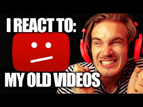 Thumbnail: I React To My Old Videos... - (Fridays With PewDiePie - Part 80)