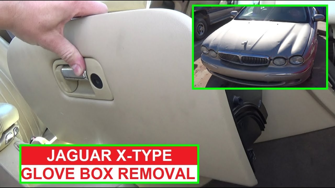 Jaguar X Type Glovebox Removal And Replacement Glove Box