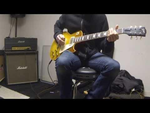 Gibson Les Paul Collectors Choice #8 aka The Beast + Marshall super lead 1968 replica