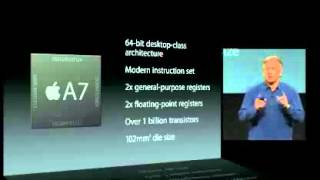 Apple iPhone 5S Full Feature Presentation Keynote September 2013