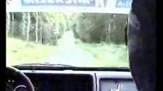 Lieksa alueralli 2007 EK2 in-car