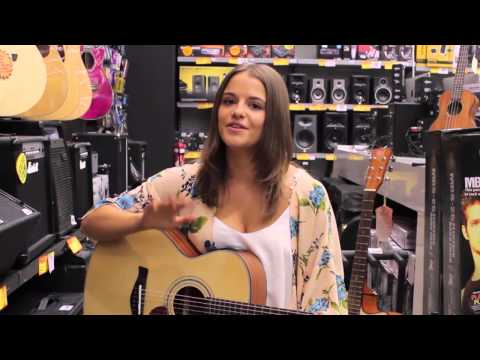 Tribute TRI-7SCE Electric Acoustic Guitar Review Feat. Madeleine Jayne @ JB Hi-Fi