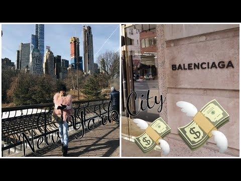 NYC  Balenciaga shopping & By Chloé