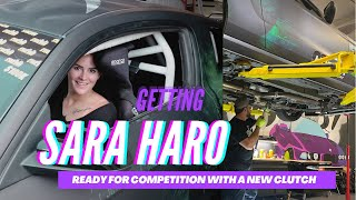 homepage tile video photo for UPGRADING THE CLUTCH ON SARA HARO'S DRIFT MUSTANG