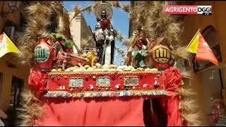 Agrigento, Seconda domenica di San Calogero: sagra del grano e processione
