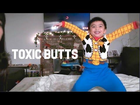 Butt Ox. Butt Talks. Toxic Butt? | Family Vlogs | April's Beautiful Mess